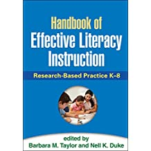 Handbook of Effective Literacy Instruction: Research-Based Practice K-8 (English Edition)