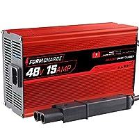 FORM 15 AMP 雅马哈 G19-G22 电池充电器,适用于 48 伏高尔夫球车