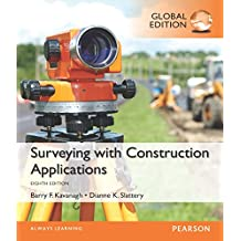 Surveying with Construction Applications, Global Edition (English Edition)
