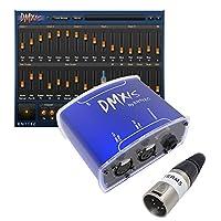 Enttec DMX USB DMXIS 70570 接口和 TERM5 终结器 - 照明控制器和 MAC/PC OS 软件(仅下载)捆绑