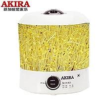 新加坡AKIRA爱家乐豆芽机 芽苗机 大容量 可当加湿器用 KB-SH23/SG