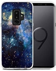 S9 Plus 手机壳动物 - CCLOT 三星盖乐世 S9 Plus + 保护套可爱蓝色切龙动物设计(TPU 保护套硅胶保护套) JANA36