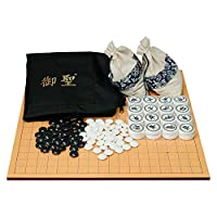 御圣-棋盘-中国象棋和围棋双面棋盘套装-便携式旅行-二合一围象套装