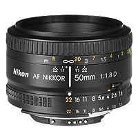 赠送UV保护镜 Nikon 尼康 AF 50mm f/1.8D 自动对焦 镜头