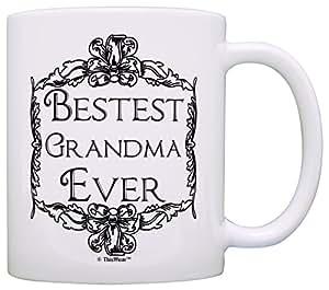 送给祖母的生日礼物 *好的奶奶 礼物 咖啡杯 茶杯 白色 A-P-S-M11-0537-01