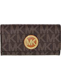Michael Kors 迈克·科尔斯 FULTON 女式 钱包 32S4GFTE3B-200 棕色 均码