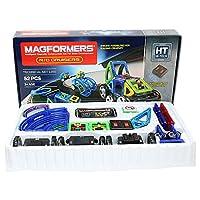 MAGFORMERS 拼插类玩具 遥控机车 R/C Custom set 52片