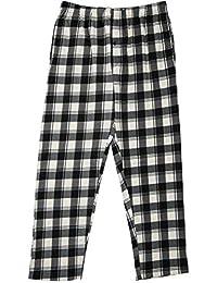 North 15 男童格子毛绒羊毛睡衣裤(8-18)