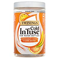 Twinings 川宁 Cold In'Fuse 芒果西番莲血橙茶包(6罐装 共72个茶包)