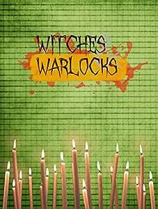 Witches and Warlocks Halloween Flag 多色 小号