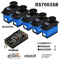 双叶电子工业 RS7003SB-BLS172SV/5 (接收器、冲浪背包) 00106918