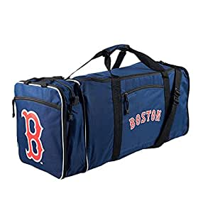 MLB Boston Red Sox Extended Duffle Bag, One Size, Navy