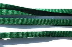 Green FOLD 针织涤纶丝带装饰 5 码折叠式 d,e,f, Forest Green Foldover fo123