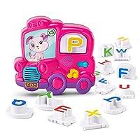 LeapFrog 冰箱拼音磁性字母组合–在线独家粉红色