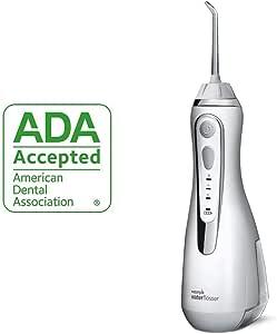 waterpik 洁碧 无线高级水牙线 充电式便携口腔冲洗器 ,适合旅行和家庭使用,WP-560 白色