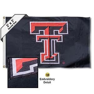 Texas Tech Red Raiders 60.96x7.62m 刺绣旗帜