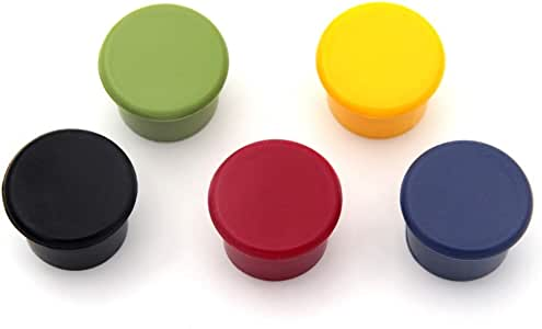 Kloud City ® 不同颜色的硅胶可重复使用*瓶盖/啤*密封瓶盖 black,blue,red,green,yellow KC-0736