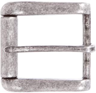 1 3/8 英寸(35 毫米)矩形单叉方形滚轮皮带扣