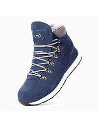 TFO 户外雪地靴 冬季长毛绒保暖户外高帮登山鞋 优选反绒皮女鞋 防水防滑徒步鞋雪鞋女