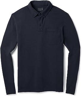 SmartWool 男式 Merino 250 长袖 Polo 衫
