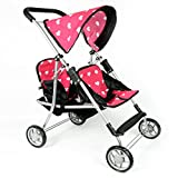 The New York Doll Collection A110 Twin Stroller