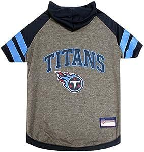 Pets First Tennessee Titans 连帽衫 T 恤 黑色 中