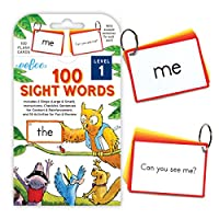 eeBoo 100 Sight Words 闪存卡 级别 1