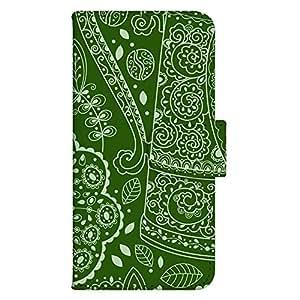 智能手机壳 手册式 对应全部机型 印刷手册 wn-099top 套 手册 蔓藤花纹 装饰 美术 图案 植物 草 木 UV印刷 壳WN-PR331224-MX XPERIA Z2 SO-03F 图案C