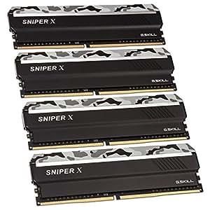 G. Skill Sniper X K4 - 主内存(4 x 16GB DDR4)彩色迷彩