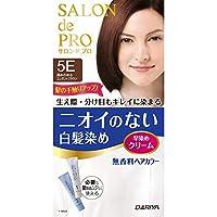 塔丽雅SALON de PRO 无香料*膏 快速*膏(白发用) 5E<深邃优雅棕色> 40g+40g [准*]