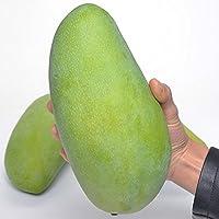 【个头大 味甜 无丝】越南大青芒8斤 5-8个 金煌芒果 新鲜水果(食用前注意分辨生熟,禁止发冰箱)