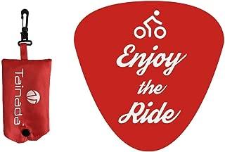 Tainada 防水自行车座椅 自行车 防雨 防尘鞍套 带便携式储物袋 + 赠送反光带