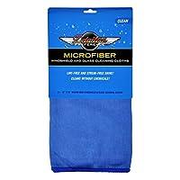 Detailer's Preference 挡风玻璃和玻璃清洁毛巾,30.48 X 40.64 厘米(2 件装) 12 in X 16 in 蓝色 DP-MTG192-BLU-2