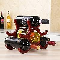美国mittaGonG一片枫情北欧简约风实木红酒架摆件 葡萄酒格子架 欧式酒柜客厅摆件 可拆卸式红酒架