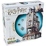 Wrebbit 3D 拼图哈利波特 - Burrow Weasley 家庭家庭 3D 拼图(415 片)