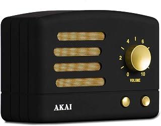 Speaker Vintage Akai r50bt 蓝牙,带可充电电池