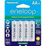 Panasonic松下 BK-3MCCA4BA Eneloop爱乐普 AAA 2100 循环镍氢预充电电池 4支装