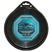 Still 黑色 resistretch 渔线轮网球 string-petrol 蓝色1.25mm X 200M