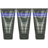 Neutrogena 露得清 Men Skin Clearing Shave Cream 5.10 oz (Pack of 3) Pack of 3