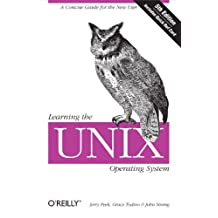 Learning the Unix Operating System: A Concise Guide for the New User (In a Nutshell) (English Edition)