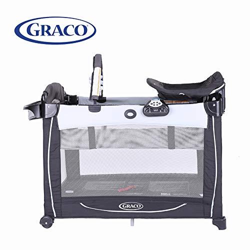 GRACO 葛莱 多功能儿童床 便携可折叠儿童游戏床 移动尿布更换台 1852642