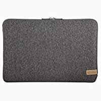 "Hama""Jersey""笔记本电脑包*大15.6英寸,34厘米,深灰色"