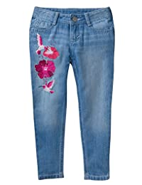 Gymboree 女童小刺绣牛仔裤