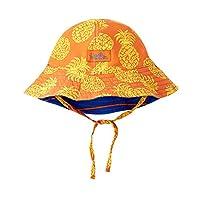 UV SKINZ UPF 50+ 男嬰雙面太陽帽水洗菠蘿
