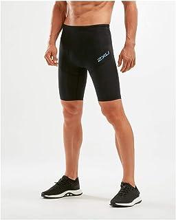 2XU 男士 Run Dash 压缩短裤
