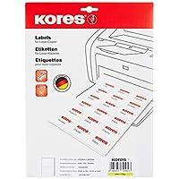 Kores 薄膜标签透明激光+复印机 210.0 × 148.0毫米 10张20张标签