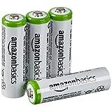 AmazonBasics 亚马逊倍思 AA 型(5号) 镍氢预充电 可充电电池 (4节,2000mAh) (新旧款颜色随机发货)