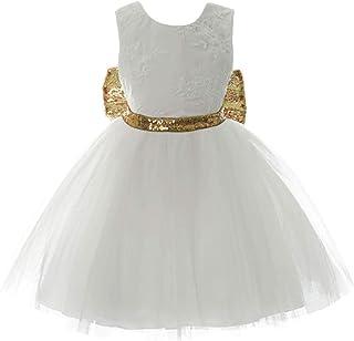 micia luxury儿童礼服 芭蕾舞裙 芭蕾舞裙 派对 连衣裙 礼服 正装礼服 婴儿礼服 童装 白色 12month