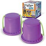 Geospace Walkaroo Ican Bucket Stilts 72 months to 999 months 1双 紫色