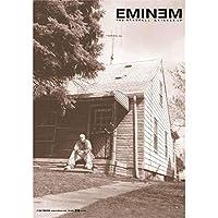 Eminem Marshall Mathers 官方版面纺织品旗帜海报(75 厘米 x 110 厘米)